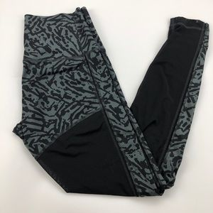 Lululemon Black Grey High Waist Pant